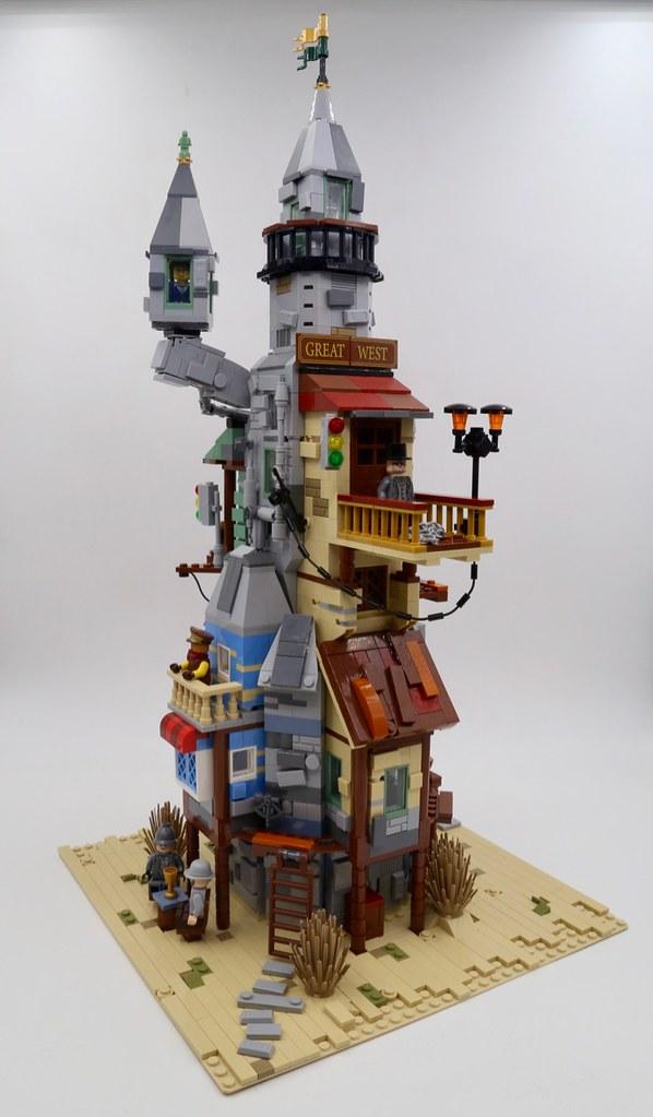 Lego House Builder Island