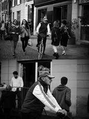 [La Mia Città][Pedala] (Urca) Tags: milano italia 2017 bicicletta pedalare ciclista ritrattostradale portrait dittico bike bycicle nikondigitale scéta biancoenero blackandwhite bn bw 10221