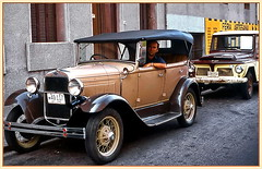 My rental car in Montevideo (gerard eder) Tags: cars ford forda forda1928 vintage vintagecars world travel reise viajes america südamerika sudamérica sudamerica uruguay montevideo städte street streetlife strase traffic outdoor city ciudades cityscape