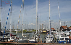 Who can count the masts? (Dorota.S - !) Tags: haven hindeloopen friesland netherlands masts yachts