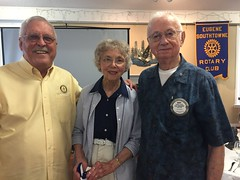 Congratulations to our newest major donors to TRF, Bert and Mildred Toepel