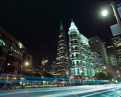 Calles de San Francisco (-Alberto_) Tags: pentax6x7 120film sanfrancisco longexposure mediumformat istillshootfilm kodakektar
