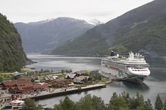 Norwegian Fjords Cruise (Steve~B) Tags: ncl cruise norwegian jade flam port norway cruiseterminal