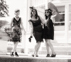 The Gatsby Garden Party (Metro Tiff) Tags: spadinamusuem c150to gatsby garden party toronto vintage clothing picnic dance fashion suspenders flapper girls umbrellas croquet history historical house museum sexy woman dapper vogue spadina