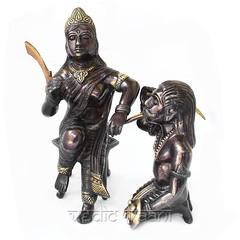 Baglamukhi idol   Baglamukhi idol in exotic finish   VedicVaani.com (vedicvaani.com) Tags: idol baglamukhi statue finish exotic maa goddess bagalamukhi murti figurine sculpture