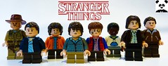 Stranger Things (Random_Panda) Tags: lego figs fig figures figure minifigs minifig minifigures minifigure purist purists character characters film films movie movies television tv netflix stranger things