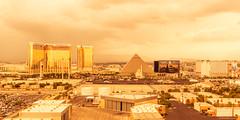Las Vegas Hotels just before the Rain