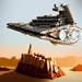 Star Destroyer over Jedha City
