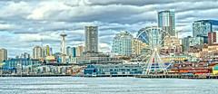 Seattle Skyline:Vista