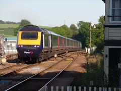 43155 Liskeard (1) (Marky7890) Tags: gwr 43155 class43 hst 1a98 liskeard railway cornwall cornishmainline train