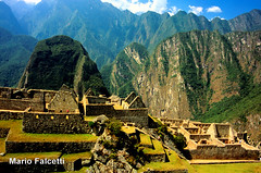 Perù: Machu Picchu (mariofalcetti) Tags: perù machupicchu landscape mountain architecture architettura monumento monuments