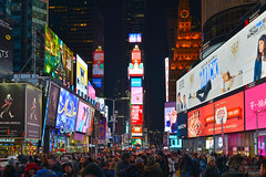 Times Square (..Javier Parigini) Tags: timessquare usa unitedstates estadosunidos newyork newyorkcity manhattan nyc nuevayork cityscape urbano urban nikon nikkor d800 1424mm f28 flickr javierparigini