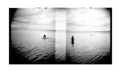 Lake (yulia_adamova) Tags: diana ilford strange analog summer film people lomography monochrome lake