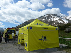 EHBO tent