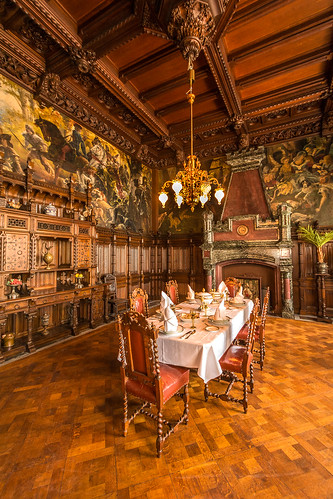 Schloss Drachenburg - Speisezimmer
