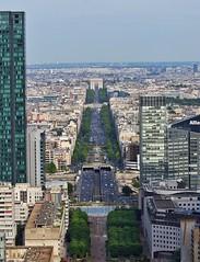 Étoile from the roof of the Grande Arche, La Défense (alcowp) Tags: grandearche cityscape étoile arcdetriomphe puteaux ladéfense paris france