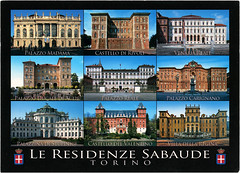 postcard - from dore92, Italy (Jassy-50) Tags: postcard postcrossing torino italy savoyresidences residenzesabaude savoy castle palace villa unescoworldheritagesite unescoworldheritage unesco worldheritagesite worldheritage whs building architecture multiview