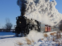 Pere Marquette 1225 (michaelkoprowicz2) Tags: peremarquette1225 railroad railway steamlocomotive northpole polarexpress steamrailroading