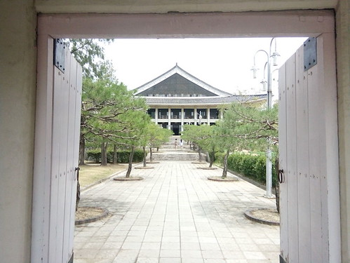 Gyeongju, Boman Lake, Doorway