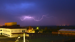 Rayo 1a (berserker170) Tags: rayo ray relampago lightning tormenta strorm eos extremadura 550d noche night flickrexploreme