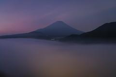 Like a Dream (Yuga Kurita) Tags: japan landscape nature fuji mount mt fujisan fujiyama beauty beautiful dawn long exposure cloud sea mountain