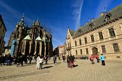 prague castle (bennychun) Tags: prague praha praga czech czechrepublic europe euro vltava karlovmost oldtownsquare powdertower stvitus travel spring capital unesco heritage
