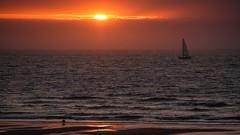 Sailing into the sun B (Drummerdelight) Tags: sunset eveninglight seascape sunsetting