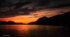 The fading day (Askjell) Tags: evening fjord møreogromsdal norway scenery seascape sunnmøre sunset volda landscape sundown sky night light sun orange