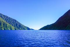 Milford Sound (SelenaBlue) Tags: nz newzealand southisland mountains sound landscape milfordsound tasmansea