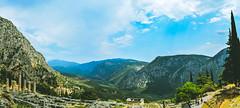 Delphi panorama (DinoSlamek) Tags: nikon d3300 nature panorama landscape greece delphi outdoor mountain 1855mm