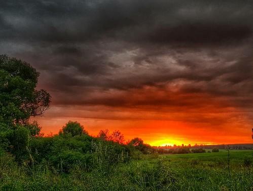 #фото #фотография #природа #пейзаж #лето #вечер #закат #солнце #тула #небо #облака #красиво #россия #russia #rus #photo #photography #nature #sky #cloud #color #colorful #evering #sunset #sun #cool #tula