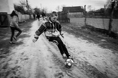 _DSF6759 (Dave Cavanagh Street) Tags: ukraine chernobyl football ball play footballer kids playtime skill nuclear exclusionzone nuclearexclusionzone travel outdoors outside environmentalportrait social documentary