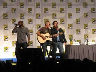 Dulé Hill, Curt Smith, and James Roday