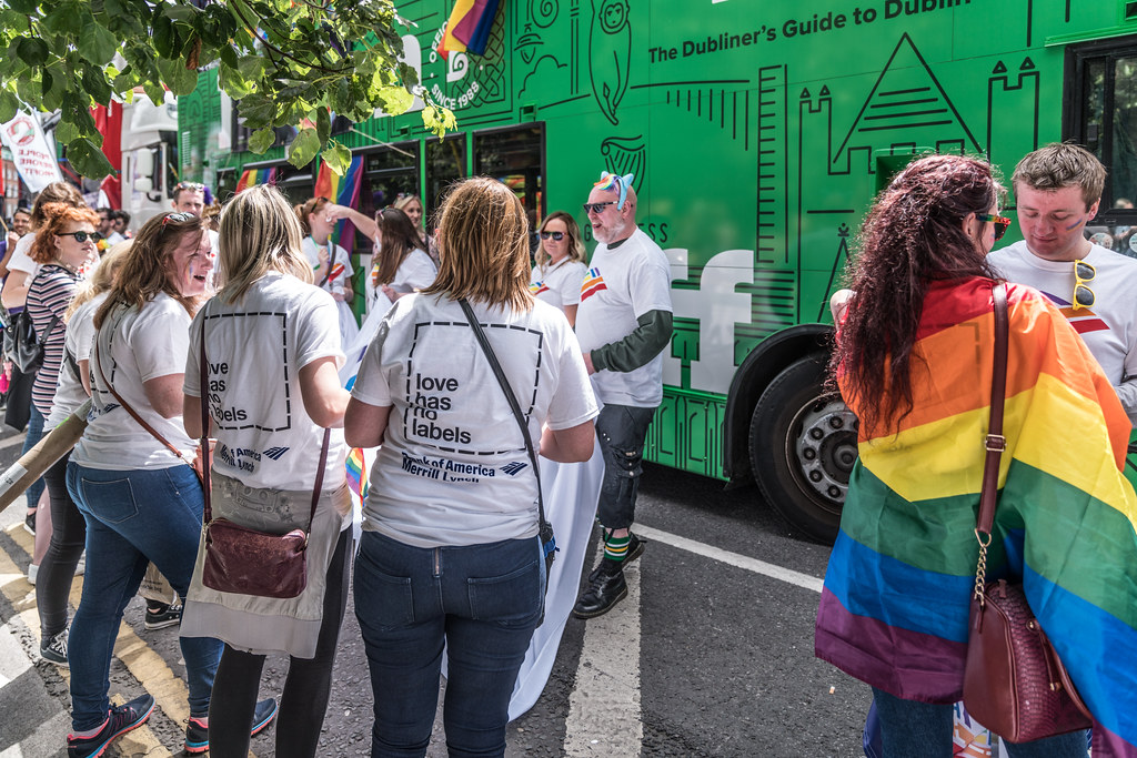 LGBTQ+ PRIDE PARADE 2017 [STEPHENS GREEN BEFORE THE ACTUAL PARADE]-129830