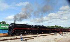 7-611HeadedThruCreweVA (T's PL) Tags: nikon tamron 18270 f3563 di ii vc pzd 611excursionlynchburgtopetersburg creweva d7200 nw611 nw611excursion5617 nw611excursion5617lynchburgtopetersburg nikond7200 nikondslr tamron18270mmf3563diiivcpzd tamron18270 nikontamron va virginia outdoor train locomotive railroad smoke steam sky clouds tamronnikon tamron18270f3563diiivcpzd