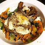 Tonight's #DIYdinner is Teriyaki Tofu Bibimbap -- jasmine rice, wombok, carrot, aioli, fried egg and teriyaki tofu with sesame seeds -- definitely delicious 😋 #imadethis #healthyishappy #vegetarian #hellofreshau #foodporn #asiansensation #healthyathom thumbnail