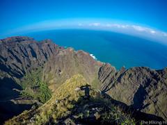 Awa'awapuhi Trail (thehikingHI) Tags: hiking hike landscape ocean ridge mountain napali coast kauai kokeestatepark hawaii valley