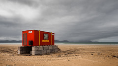 Lifeguard (RWYoung Images) Tags: rwyoung olympus em1mk11 ireland kerry inchbeach lifeguard beach sea sand quantumentanglement incongruous