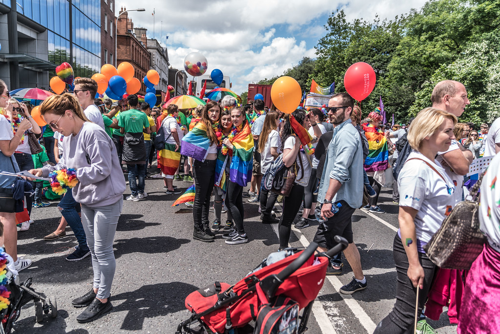 LGBTQ+ PRIDE PARADE 2017 [STEPHENS GREEN BEFORE THE ACTUAL PARADE]-129873
