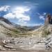 360 Panorama at Tre Cime di Lavaredo, Dolomites, Italy