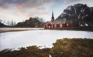 L'Eglise de Flakstad