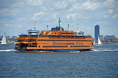 Picture Of The Staten Island Ferry 'Guy V Molinari' Going From Manhattan To Staten Island. Photo Taken Sunday June 25, 2017 (ses7) Tags: staten island ferry