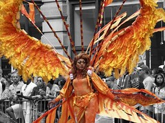 """You got the heart of a phoenix So let them see you rise"" - Olivia Holt (Lidiya Nela) Tags: sonya6000 sony pride city urban manhattan newyork newyorkcity photojournalism dragqueen candid people street streetphotography partialcolor selectivecolor newyorkcitypride nycpride2017"