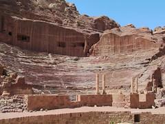 Theater at Petra (D-Stanley) Tags: jordan theater nabataeans petra