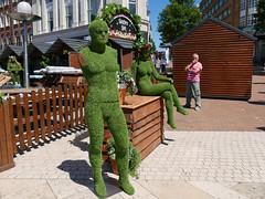 Bournemouth Garden Bar (dawn.v) Tags: summer bournemouth dorset uk england july 2017 lumixlx100 bournemouthsquare bar green candid street greenman