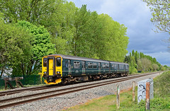 150232. (curly42) Tags: 150232 class150 1502 sprinter dmu unit gwr naascrossing railway transport travel first