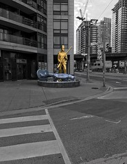 Toy Soldiers (@ThetaState) Tags: sculpture publicart toysoldiers 2017 june canada ontario toronto
