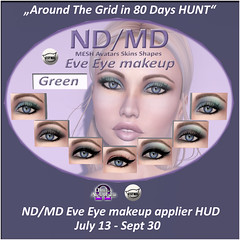 Hunt item from ND/MD (Alea Lamont) Tags: ndmd eye makeup eyeliner shadow shading make up omega applier catwa
