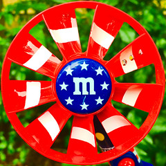 M (&Ms) (Timothy Valentine) Tags: home 2017 candy 0717 independenceday fan squaredcircle eastbridgewater massachusetts unitedstates us