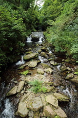 Watersmeet Waterfall (charliejb) Tags: nationaltrust watersmeet devon northdevon river water stones 2017